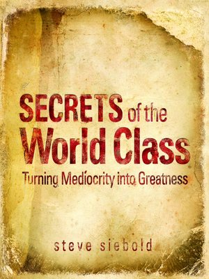 cover image of Secrets of the World Class
