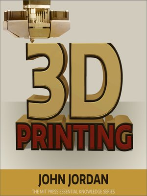 cover image of 3D Printing