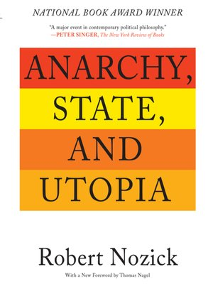 cover image of Anarchy, State, and Utopia