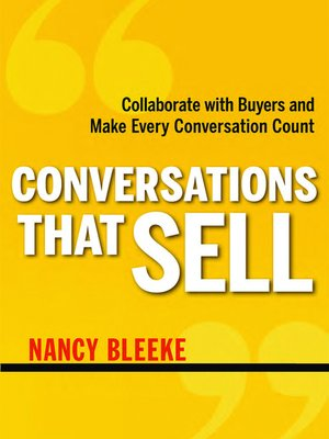 cover image of Conversations That Sell