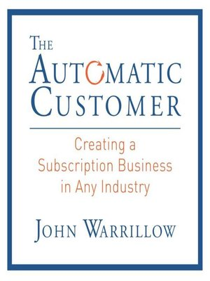 cover image of The Automatic Customer
