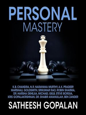 cover image of Personal Mastery