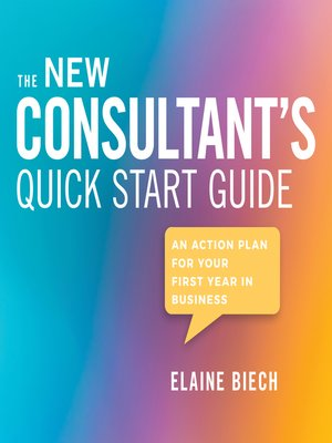 cover image of The Consultant's Quick Start Guide