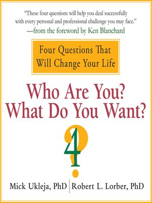 cover image of Who Are You? What Do You Want?