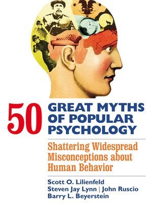 cover image of 50 Great Myths of Popular Psychology
