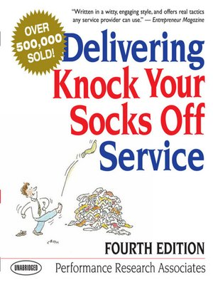 cover image of Delivering Knock Your Socks Off Service