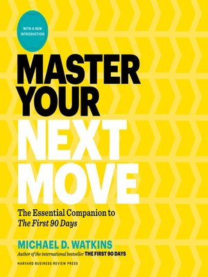 cover image of Master Your Next Move