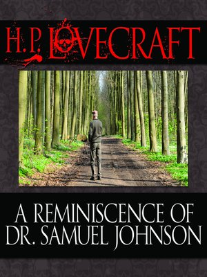 cover image of A Reminiscence Dr. Samuel Johnson