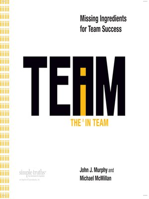cover image of The I in Team