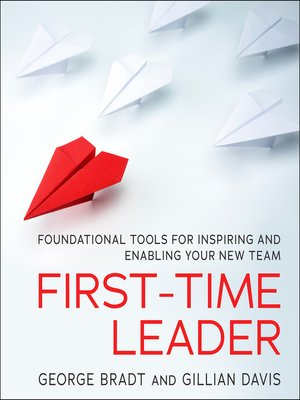 cover image of First-Time Leader