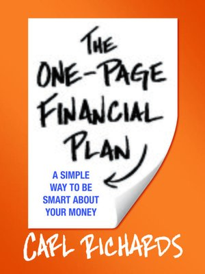 cover image of The One-Page Financial Plan
