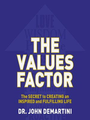 cover image of The Values Factor