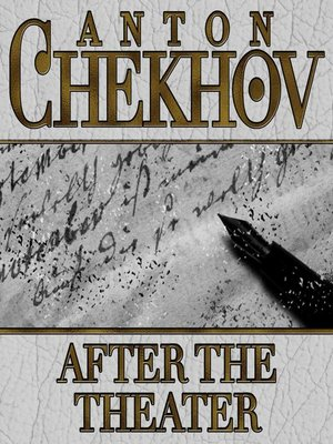 cover image of After the Theater