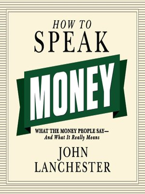 cover image of How to Speak Money