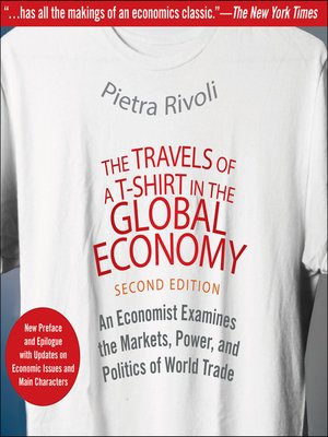 cover image of The Travels of a T-Shirt in the Global Economy