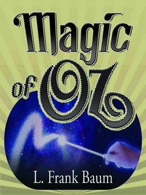 cover image of Magic of Oz