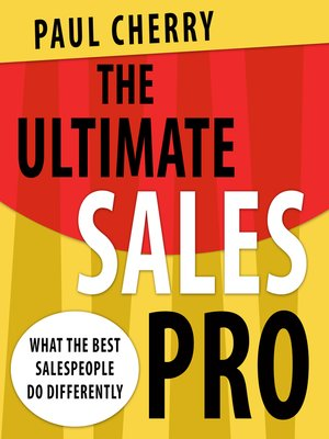 cover image of The Ultimate Sales Pro