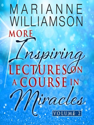 cover image of Marianne Williamson, Volume 2
