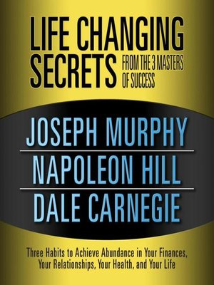 cover image of Life Changing Secrets from the 3 Masters Success