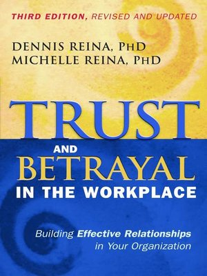 cover image of Trust and Betrayal in the Workplace