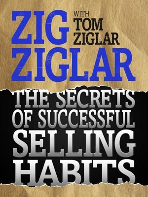 cover image of The Secrets Successful Selling Habits