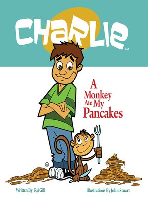 cover image of A Monkey Ate My Pancakes