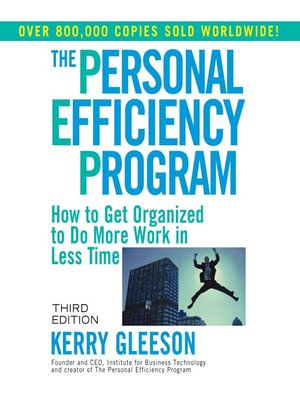 cover image of The Personal Efficiency Program