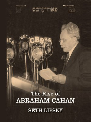 cover image of The Rise Abraham Cahan