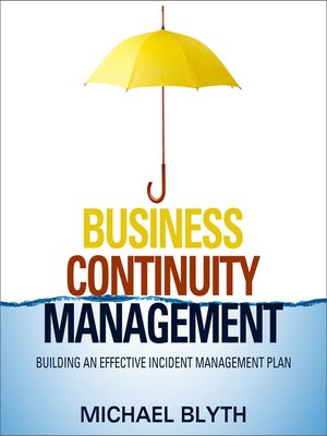 cover image of Business Continuity Management