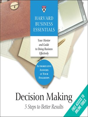 cover image of Decision Making