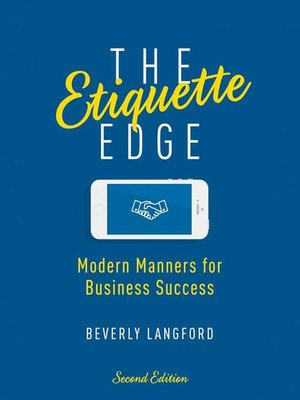 cover image of The Etiquette Edge