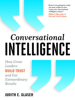 cover image of Conversational Intelligence