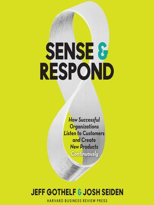 cover image of Sense & Respond
