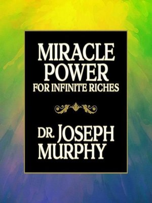 cover image of Miracle Power for Infinate Riches