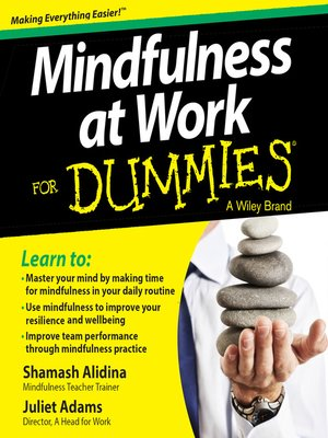 cover image of Mindfulness at Work For Dummies