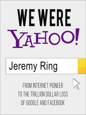cover image of We Were Yahoo!