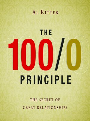 cover image of The 100/0 Principle