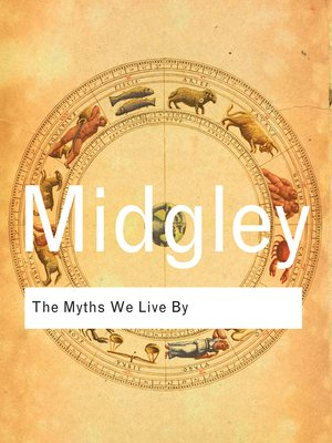cover image of The Myths We Live By