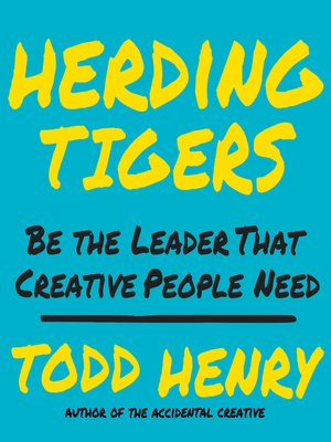 cover image of Herding Tigers