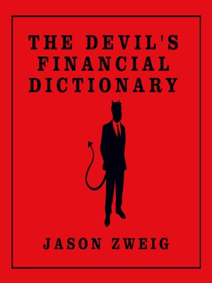 cover image of The Devil's Financial Dictionary