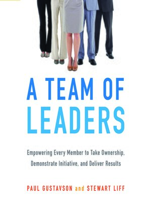 cover image of A Team of Leaders