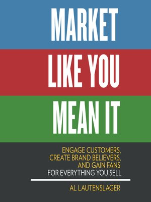 cover image of Market Like You Mean It