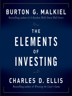 cover image of The Elements of Investing