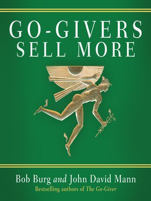cover image of Go-Givers Sell More