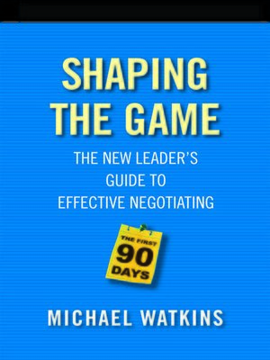 cover image of Shaping the Game