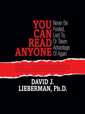 cover image of You Can Read Anyone
