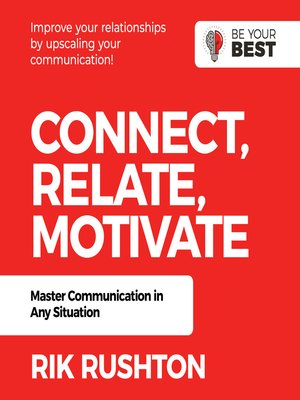 cover image of Connect Relate Motivate