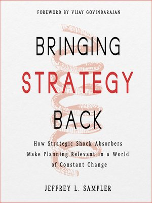 cover image of Bringing Strategy Back