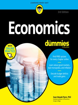 cover image of Economics for Dummies