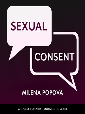 cover image of Sexual Consent
